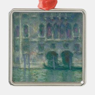 Panoramablick Claude Monets | des Ile-de-France Silbernes Ornament