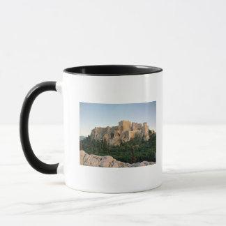Panoramablick der Akropolises Tasse