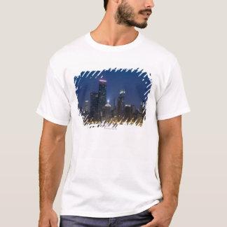 Panoramablick des Nordabschnitts der 6 T-Shirt