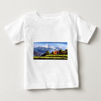 Panoramablick schönen Everest-Berges Baby T-shirt