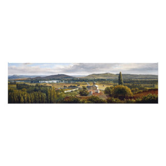 Panoramablick Theodore Rousseau des Ile-de-France Photographie