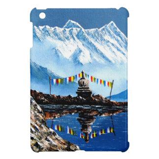 Panoramablick von Annapurna Berg Nepal iPad Mini Hülle