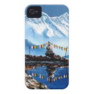 Panoramablick von Annapurna Berg Nepal iPhone 4 Hülle