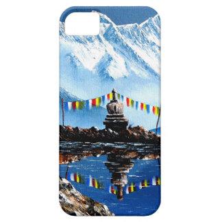 Panoramablick von Annapurna Berg Nepal iPhone 5 Etui