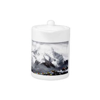 Panoramablick von Everest-Berg