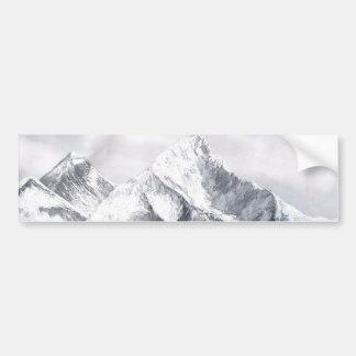 Panoramablick von Everest-Berg Autoaufkleber