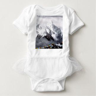 Panoramablick von Everest-Berg Baby Strampler