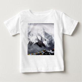 Panoramablick von Everest-Berg Baby T-shirt