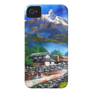 Panoramablick von Everest-Berg Nepal iPhone 4 Case-Mate Hülle