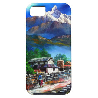 Panoramablick von Everest-Berg Nepal iPhone 5 Cover