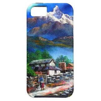 Panoramablick von Everest-Berg Nepal iPhone 5 Hülle