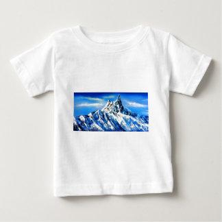 Panoramablick von Everest-Bergspitze Baby T-shirt