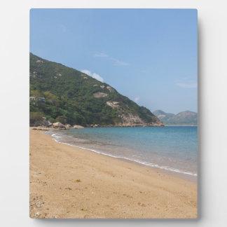 Panoramablick von Sok Kwu fahler Lamma Insel Fotoplatte