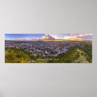Panoramica de Huajuapan Poster