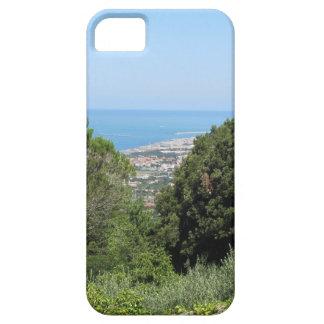 Panoramische Luftaufnahme von Livorno-Stadt iPhone 5 Etui
