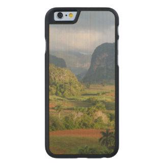 Panoramische Tallandschaft, Kuba Carved® iPhone 6 Hülle Ahorn
