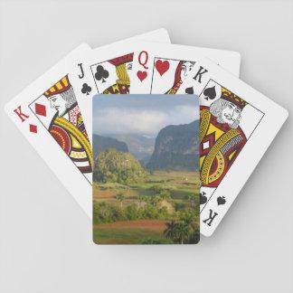 Panoramische Tallandschaft, Kuba Spielkarten