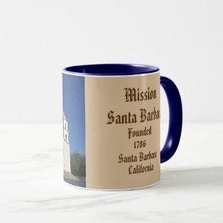 Panoramische Tasse Auftrag-Santa Barbara
