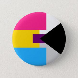 Panromantic Demisexual Button