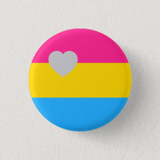 Panromantic Flagge Runder Button 3,2 Cm