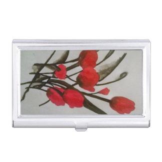 Pansy-Blumenentwurfsgeschäfts-Kartenhalter Visitenkarten-Halter