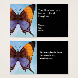 Pansy Daggerwing Schmetterling Visitenkarte