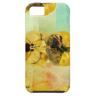 PANSY-MUSTER iPhone 5 ETUI
