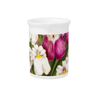 Pansy-Orchideen-Blumen Krug