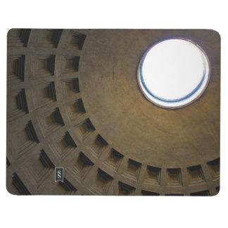 Pantheon-Dach in Rom, Italien Taschennotizbuch