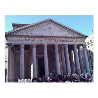 Pantheon, Rom, Italien Postkarte