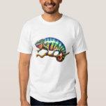 Panther-Chamäleon-Eidechsen-T - Shirt