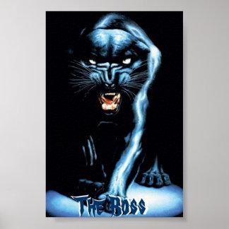 Panther… das Chef-Plakat Poster