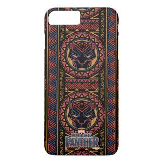 Panther-Kopf-Stammes- Muster des schwarzen iPhone 8 Plus/7 Plus Hülle