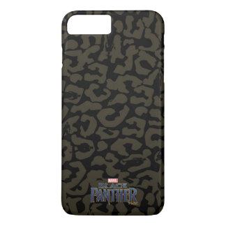 Panther-Muster des schwarzen Panther-  Erik iPhone 8 Plus/7 Plus Hülle