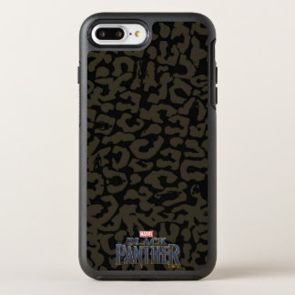 Panther-Muster des schwarzen Panther-  Erik OtterBox Symmetry iPhone 8 Plus/7 Plus Hülle