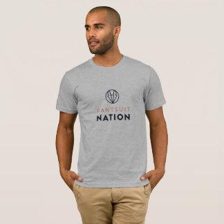 Pantsuit-Nations-amerikanisches Kleidergroßes Logo T-Shirt