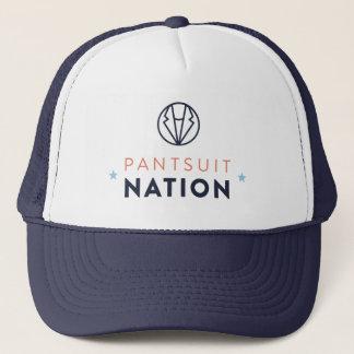 Pantsuit-Nations-Fernlastfahrer-Hut Truckerkappe