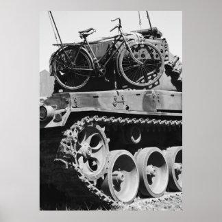 Panzer Fahrrad Poster
