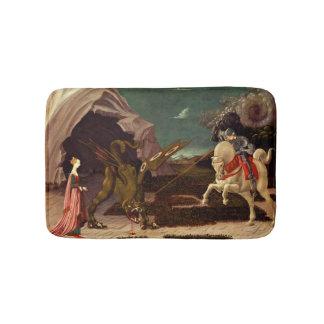 PAOLO UCCELLO - St George und der Drache 1470 Badematte