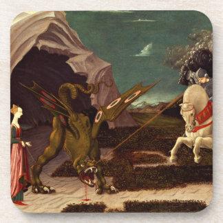 PAOLO UCCELLO - St George und der Drache 1470 Getränkeuntersetzer