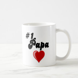 Papa #1 - feiern Sie den Tag des Großvaters Kaffeetasse