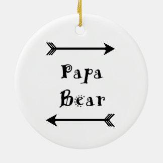 Papa-Bär Keramik Ornament