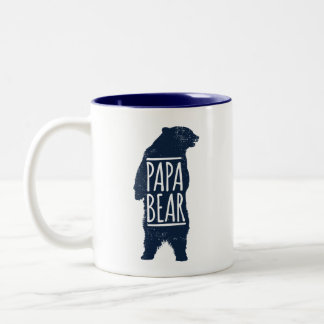 Papa-Bärn-Kaffee-Tasse Zweifarbige Tasse