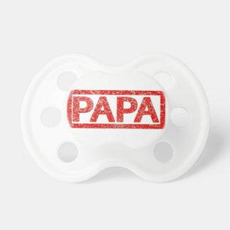 Papa-Briefmarke Schnuller