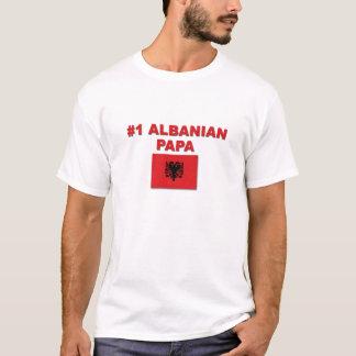 Papa des Albaner-#1 T-Shirt
