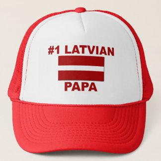 Papa des Latvian-#1 Truckerkappe
