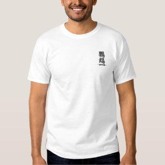 Papagei Besticktes T-Shirt