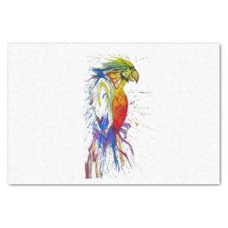 Papagei Budgie Vogel Seidenpapier