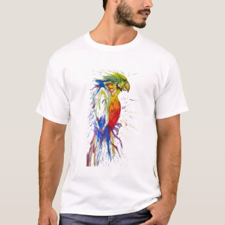 Papagei Budgie Vogel T-Shirt