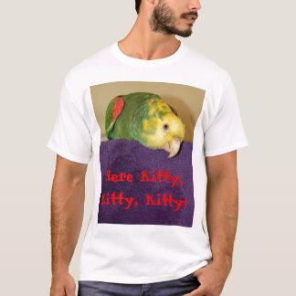 Papagei, der seinen Menschen anruft T-Shirt